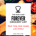 The FOREVER Grocery List!